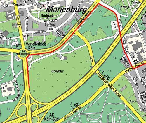 Militärringstraße Köln